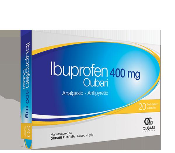 Ibuprofen Oubari 400 mg