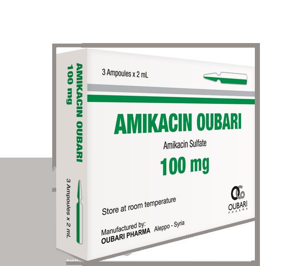 Amikacin Oubari 100 mg