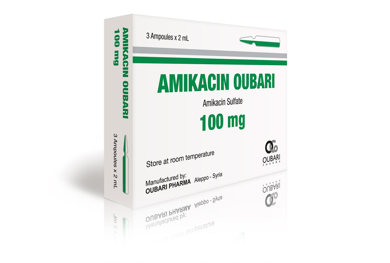 amikacin 100 mg ampoules