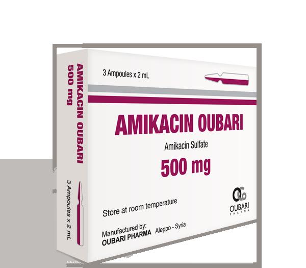 Amikacin Oubari 500 mg