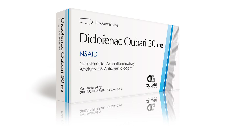 diclofenac sodium 50 mg suppositories