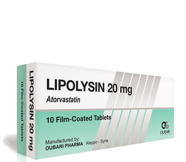 Lipolysin 20 mg