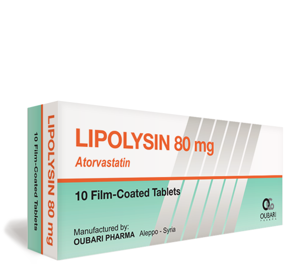 Lipolysin 80 mg