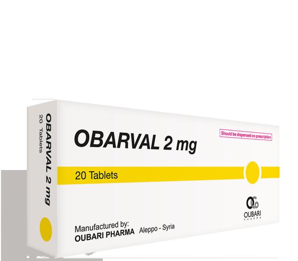 Obarval 2 mg – Tablets