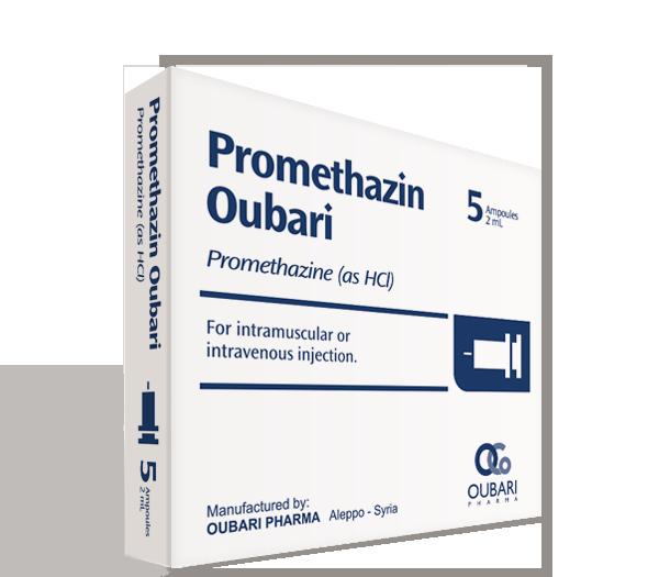 Promethazin Oubari – Ampoules