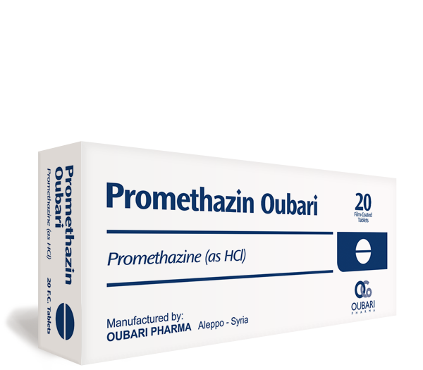 Promethazin Oubari – Tablets
