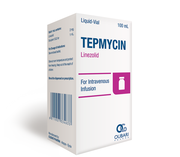 Tepmycin – Intravenous infusion