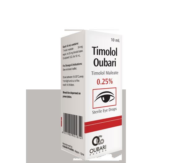 Timolol Oubari 0.25%