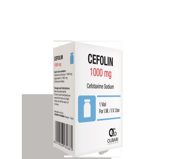 سيفولين ١٠٠٠ ملغ – فيال