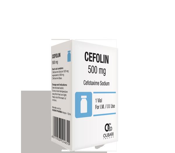 Cefolin 500 mg
