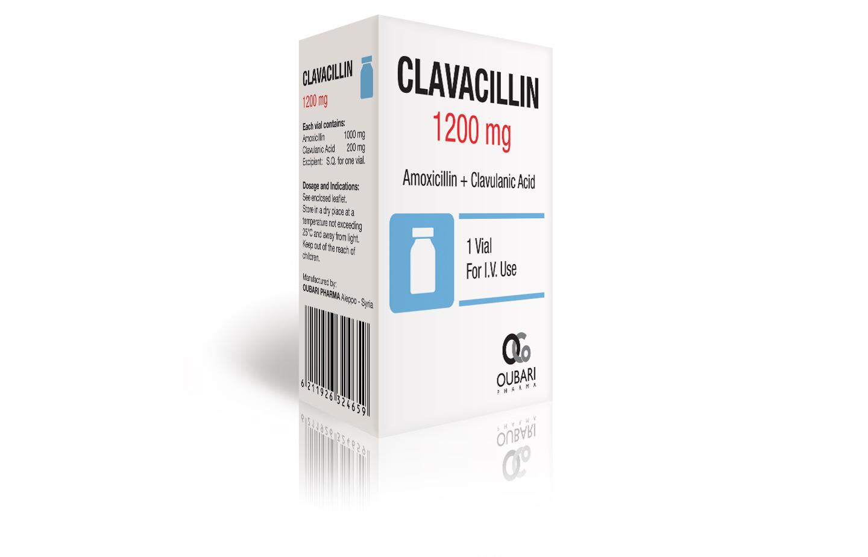 amoxicillin clavulanic acid vial