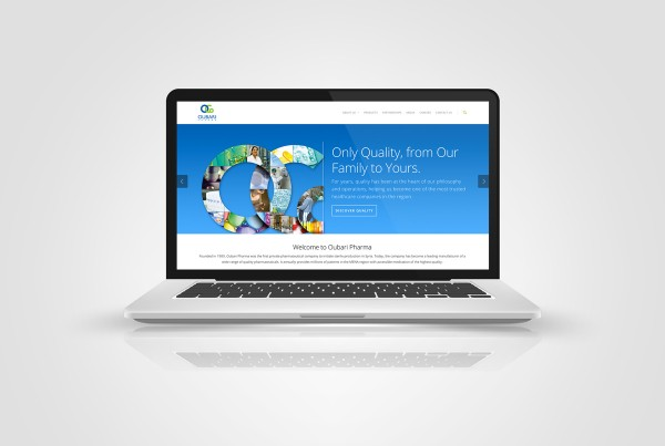 oubari pharma website