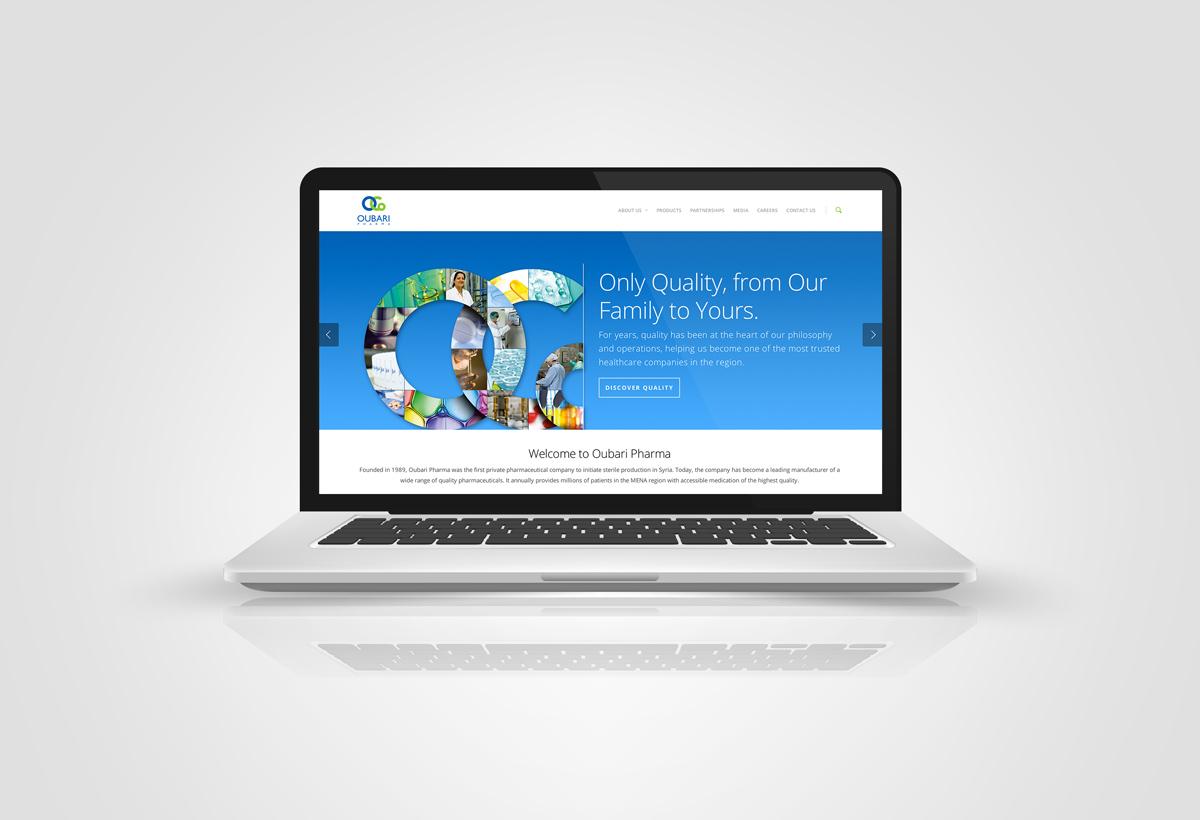 oubari pharma website