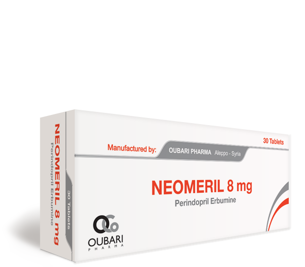 Neomeril 8 mg