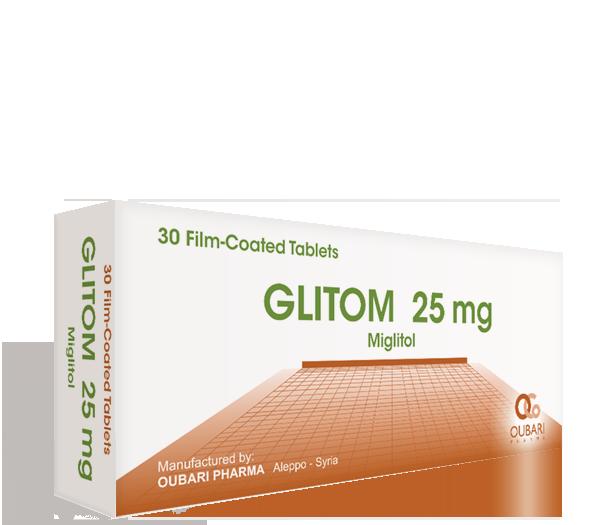 Glitom 25 mg