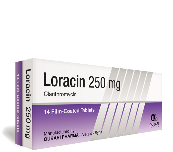 Loracin 250 mg – Tablets