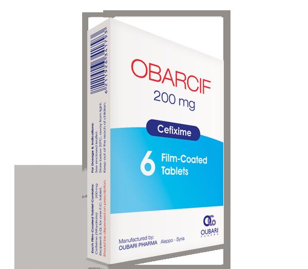Obarcif 200 mg – Tablets