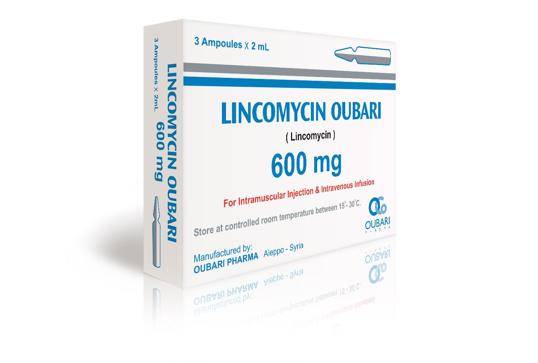 lincomycin 600 mg ampoules