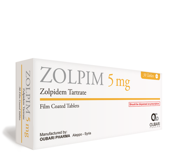زولبيم ٥ ملغ – أقراص