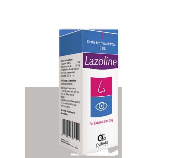 Lazoline – Eye / Nasal Drops
