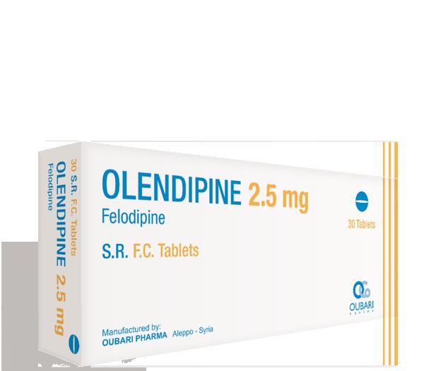 Olendipine 2.5 mg