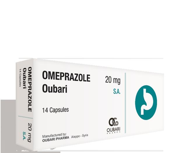 Omeprazole Oubari 20 mg S.A.
