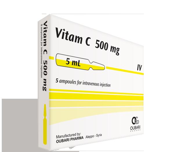 Vitam C 500 mg – Ampoules